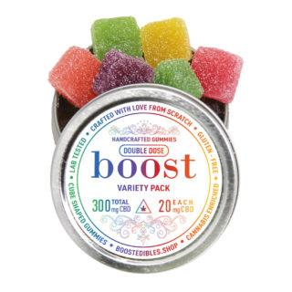 Boost CBD Variety Pack Gummies